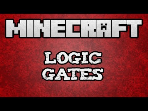  Minecraft Tutorial - Basic Logic Gate Tutorial (/w Kestalkayden)