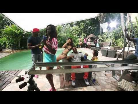 D-Black ft. Davido - Carry Go (BTS) - The Making of the Video -