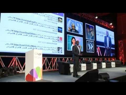 Jambu Palaniappan gives a talk about Uber at ArabNet Riyadh 2013