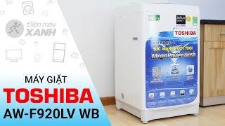 Đánh giá máy giặt Toshiba AW-F920LVWB