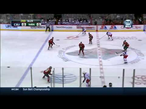 Columbus Blue Jackets vs Minnesota Wild 15.03.2014