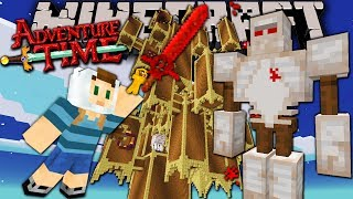 Minecraft: Adventure Time Dark Tower Terror Trapped In