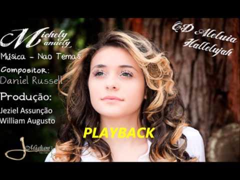 Michely Manuely - Não Temas Playback
