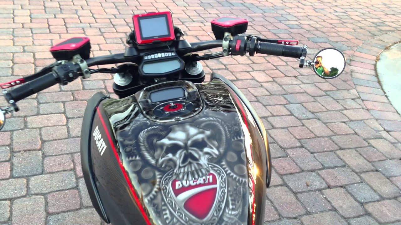 Ducati Diavel Carbon 2011 CUSTOM! - YouTube