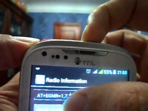 THL IMEI change - YouTube