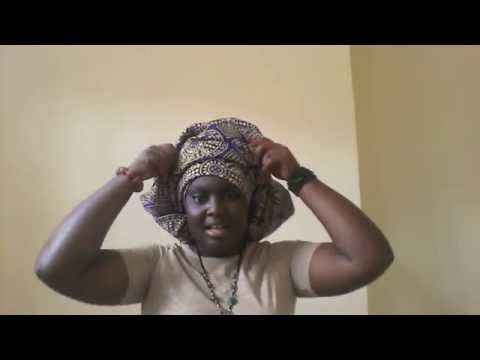 pagne traditionnel africain: coiffe africaine
