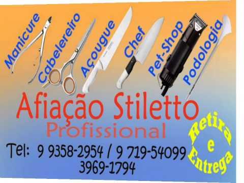 Afiação Stilleto:  Tesouras,  Facas ,  Alicates de Cutícula, Bisturi Podólogo,,,,,,