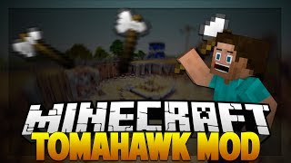 "Minecraft Mods - TOMAHAWK MOD ""THROWING AXES"""