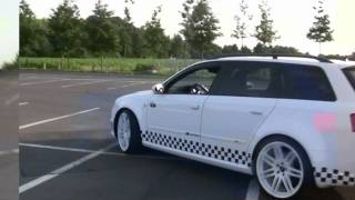 All new Audi RS4 Avant 2013 Driving videos