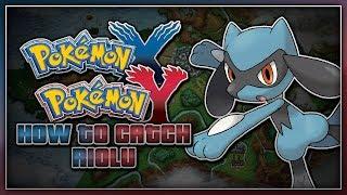 Pokémon X And Pokémon Y How To Catch Riolu