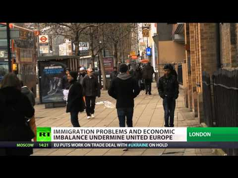 Shaky Union: Immigration problems & economy imbalance undermine EU
