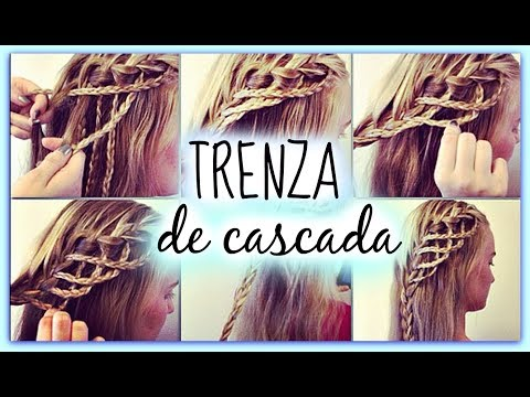 Trenza de Cascada - Waterfall Braid