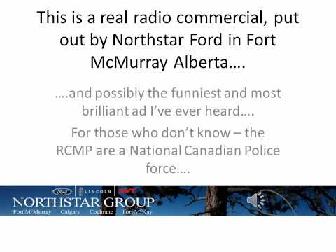 Canadian Car Dealership Creates A Radio Commercial