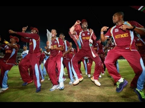 Chris Gayle &amp; Team Gangnam Dance Celebrations After Winning T20 World Cup