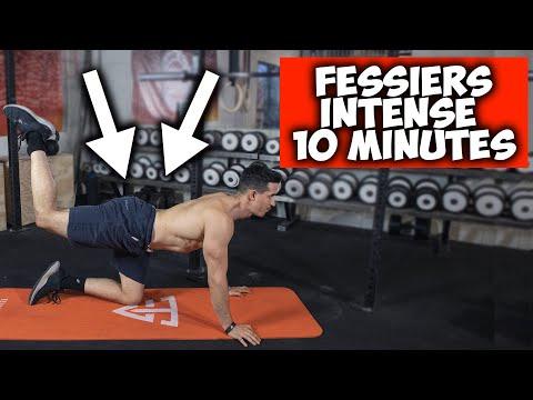 LES 5 MEILLEURS EXERCICES FESSIERS ! (10min intensif)