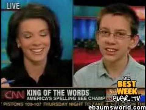 Spelling bee winner