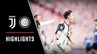 HIGHLIGHTS: Juventus vs Inter 2-0 - Il Derby d'Italia è bianconero!