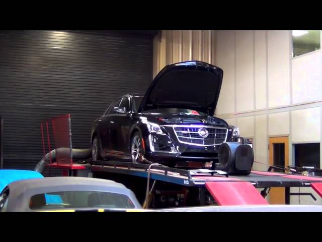 Jeff's 2015 CTS VSport 93 Octane Performance Tuning