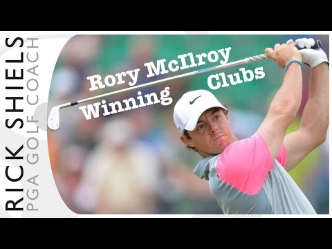 Rory McIlroy The Open Champion 2014 Golf Clubs