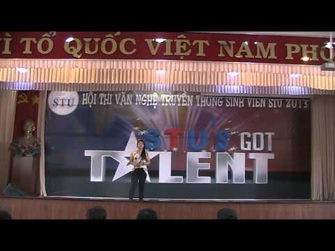 [STU's got talent 2013 - BK] 07 - Bui Thi Hong Nhi - Vet mua