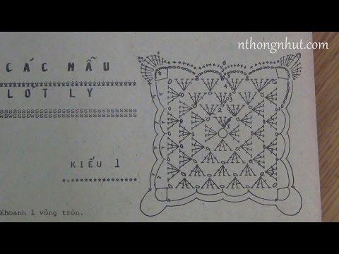 Cách đọc chart móc len đơn giản