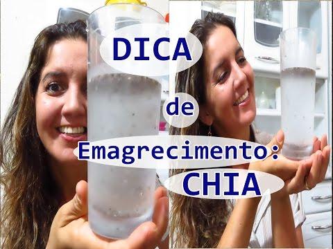 Dicas para emagrecer: ÁGUA DE CHIA