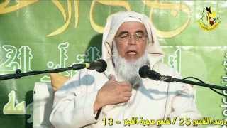 درس التفسير 25 / تفسير سورة الفجر - 13 - الشيخ محمد السحابي