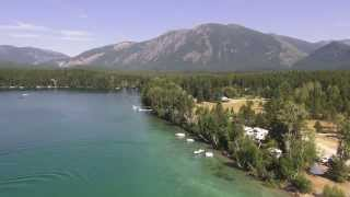 Sony CX760 and Cinestar 6 over Lake Five
