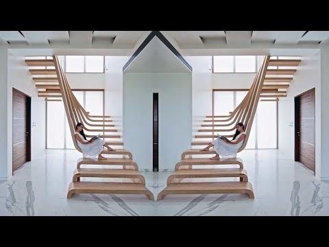 Những mẫu nhà cấp 4 đẹp như mơ nhờ điểm nhấn cầu thang gác lỡ - Bungalow house.