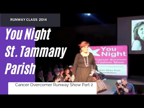 You Night Breast Cancer Survivor Runway Show Part 2