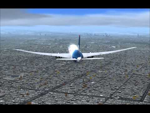 VFR Like, flying like a light plane PMDG 777-200LR, MMMX Fly arround Taxi2Gate