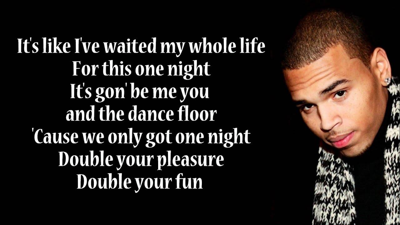 Forever - lyrics - Chris Brown - YouTube
