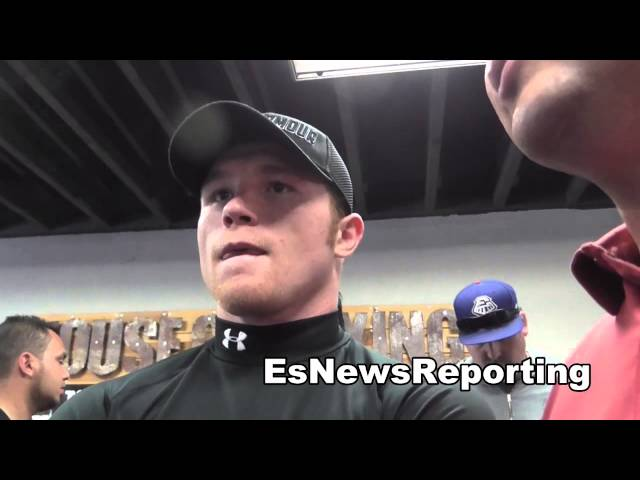 canelo alvarez vs perro angulo canelo says he wanted the tough fight EsNews Boxing