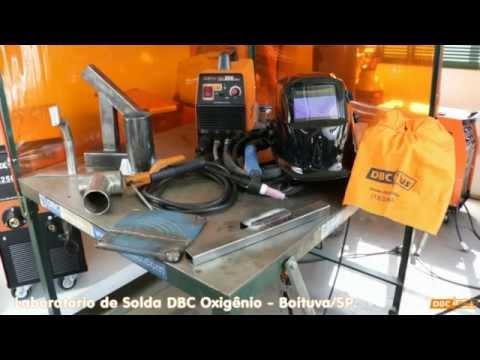 DBC Plus TIG200: demonstração soldando aço, inox, ferro fundido e eletrodo revestido