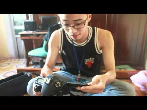 Đập hộp Canon 60D
