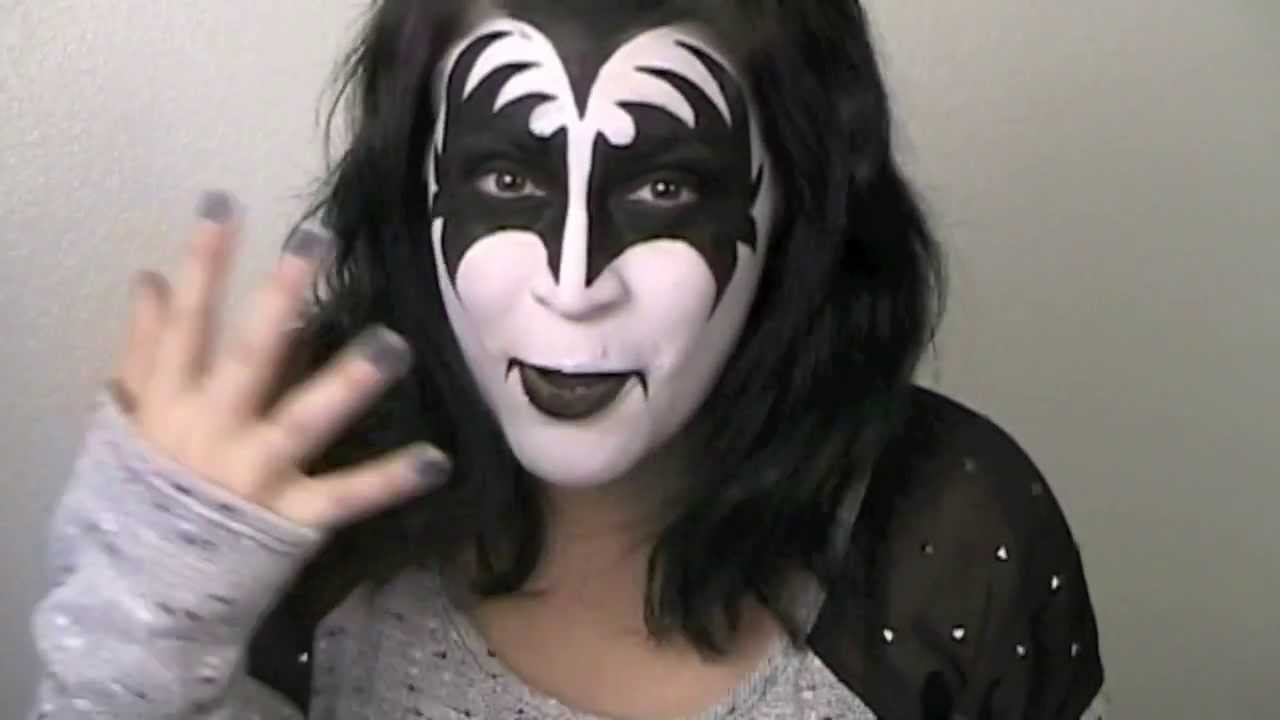 KISS Makeup Tutorial - The Demon (Gene Simmons ...
