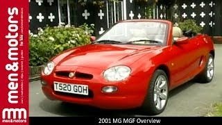 2001 MG MGF Overview