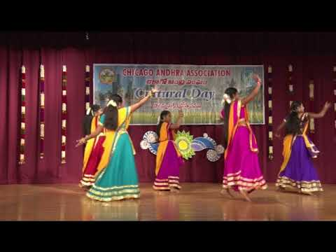 """CAA - 2017 AP Cultural Festival - Oct 14th 2017 - Item-11 """"Muripala Mukunda"""" Dance Medley"""