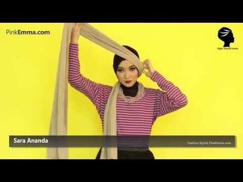 PinkEmma Hijab Tutorial: Gaya Klasik Pashmina Untuk Ke Pesta