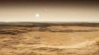 Symulacja widoku z powierzchni planety Gliese 667 Cd