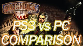 Video BioShock Infinite: PS3 Vs. PC [ULTRA SETTINGS] Comparison