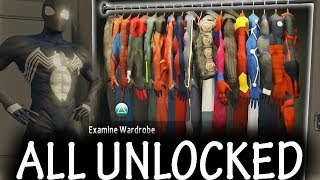 The Amazing Spider-Man 2 ALL Suits + DLC UNLOCKED [FULL