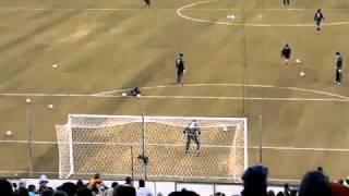 Messi Con Una Sola Pelota Mete Dos Goles De Fantasia En Un