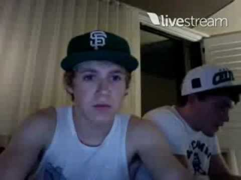 Niall Horan and Josh Devine Twitcam Monday 18 June 2012 pt 6
