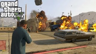 GTA 5: Grenade Launcher Location + Shooting Gameplay