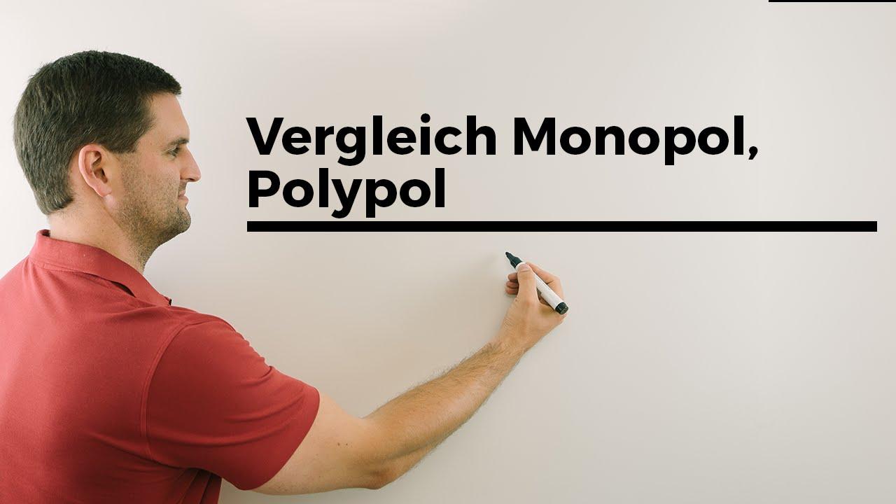 vergleich monopol polypol preis absatz kosten erl s gewinnfunktion mathelernvideo youtube. Black Bedroom Furniture Sets. Home Design Ideas