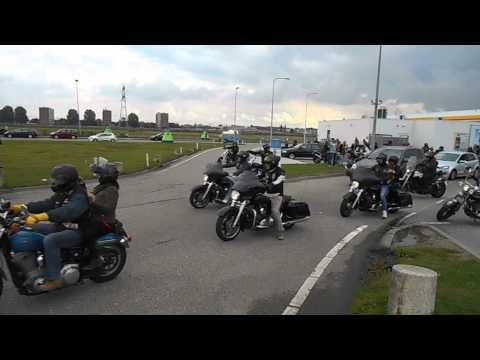 Hells Angels & Red Devils MC run 05-10-13