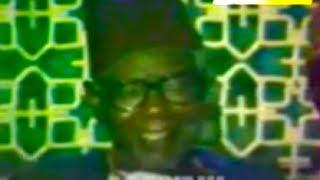CLOTURE BOURDE GAMOU TIVAOUANE 1988  - Quand Dabakh Malick Sy berce les fideles de sa voix d'or