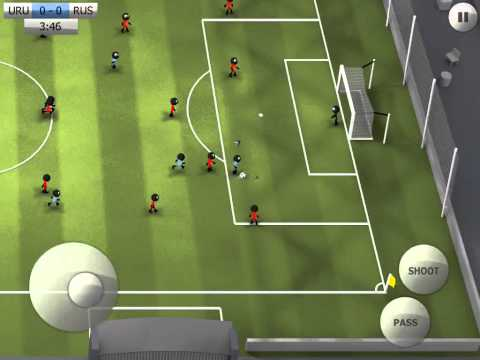 [Stickman Soccer] Uruguay 1-0 Russia