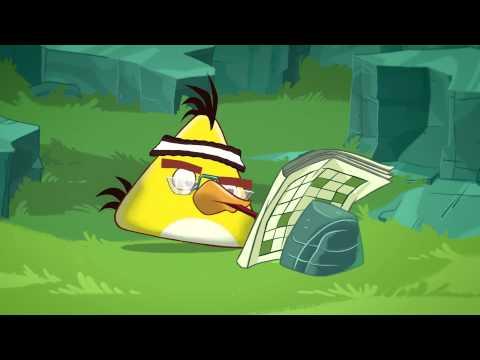 Angry Birds Toons  #1 - Chuckův čas